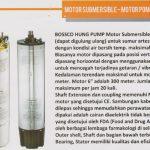 hung pump Motor Pompa Sumur Dalam, SP